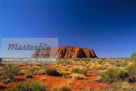 Ayers Rock, Uluru, territoire du Nord, Australie