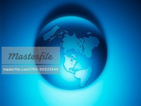 Monde Amérique du Nord et du Sud