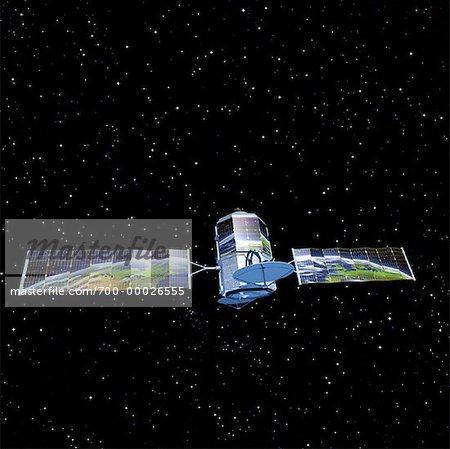 Communications Satelite Reflecting Globe