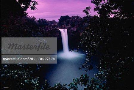 Rainbow Falls Hilo, île d'Hawaii Hawaii, USA
