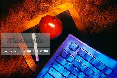 Blackboard, Apple et clavier d'ordinateur