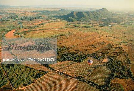 Hot Air Ballooning in the North Si Satchanalai Thailand