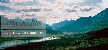 Monts Tombstone du territoire du Yukon, Canada