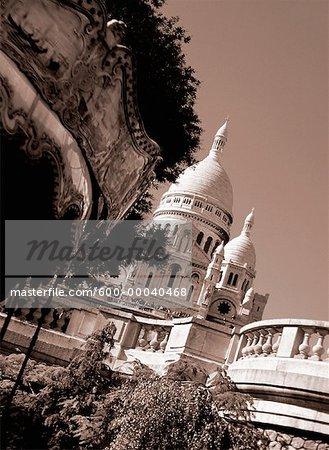 Sacre Couer Paris, France