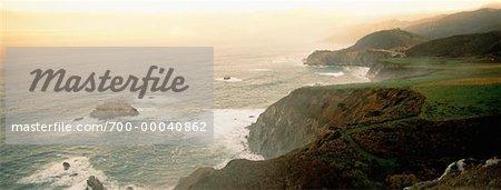 Big Sur côte de Californie, USA