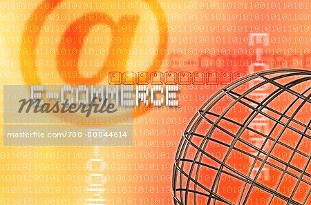 Fil Globe, Code binaire et E-commerce