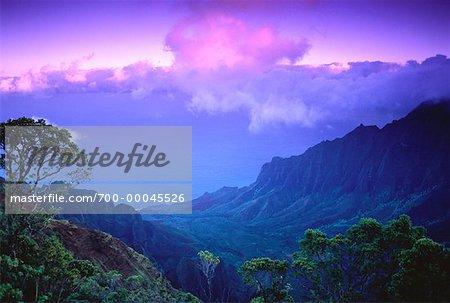 Kalalau Valley, Na Pali Coast Kauai, Hawaii, USA