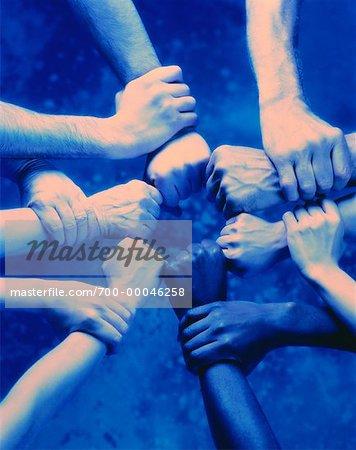 Ring of Interlocking Hands