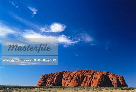 Ayers Rock, Uluru, territoire du Nord Australie
