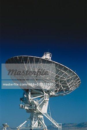 Close-Up of Radio Telescope New Mexico, USA