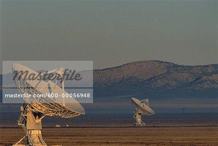 Radio Telescopes New Mexico, USA