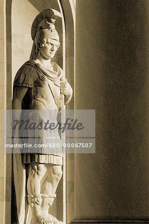 Statue au Capitole, Washington, D.C., USA