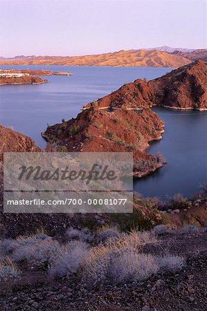 Lake Mead électrique de génération de projet, Southern Nevada, USA