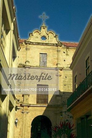 Couvent de San Francisco la Havane, Cuba