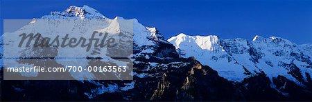 La Suisse Alpes suisses
