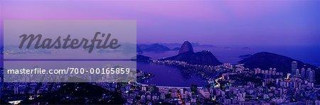 Sonnenuntergang Rio De Janeiro, Brasilien