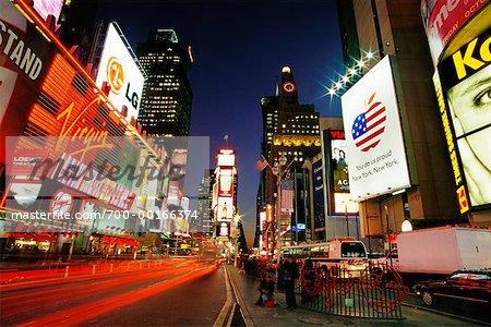 Times Square New York City, NY, États-Unis