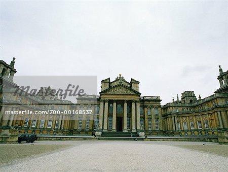 Palais de Blenheim Angleterre