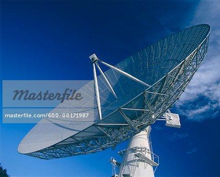 Radio Telescope, Penticton, British Columbia, Canada.