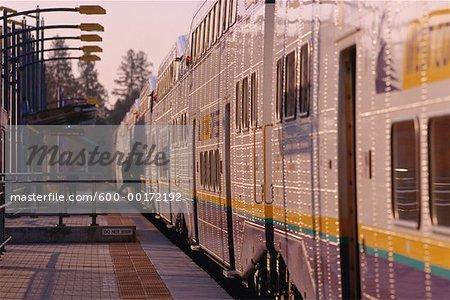 West Coast Express, Vancouver, British Columbia, Canada
