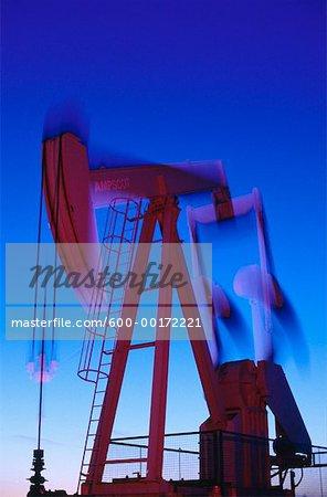 Oil Pump Jack, California, USA