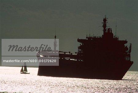 Tanker, English Bay, Vancouver, British Columbia, Canada