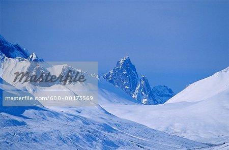 Tombstone Mountain, Ogilvie-Bergkette, Yukon, Kanada