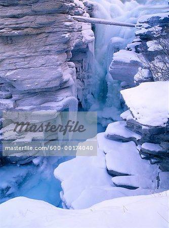 Chutes Athabasca, Parc National Jasper, Alberta, Canada