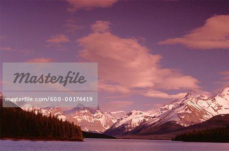 Mountains, Jasper National Park, Alberta, Canada
