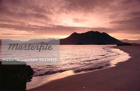 Clayoquot Sound, côtière de la Colombie-Britannique, Canada