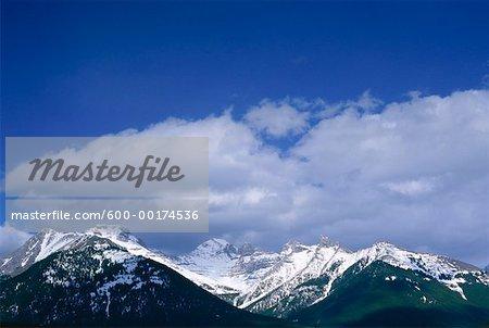 Fairholme Range, Banff National Park, Alberta, Canada