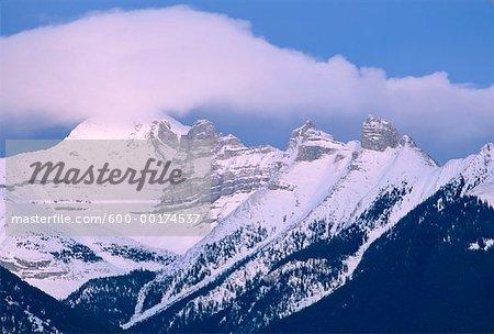 Fairholme Range, Near Canmore, Alberta, Canada