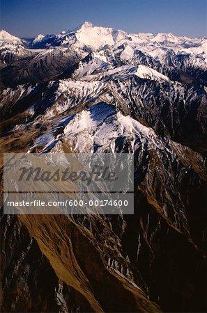 Aspirant Mt. & Alpes du Sud, South Island, Nouvelle-Zélande