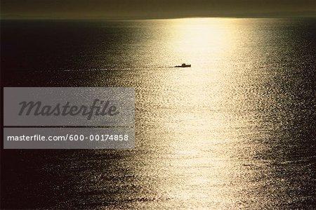 Coucher de soleil, Grand Manan, Nouveau-Brunswick, Canada