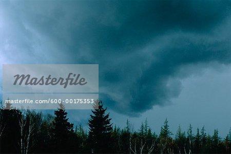 Approaching Storm, Shampers Bluff, New Brunswick, Canada