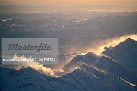 Montagnes Rocheuses, en Alberta, Canada