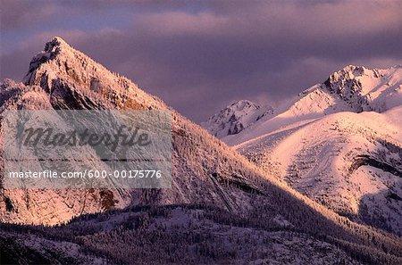 Dawn, Jasper National Park, Alberta, Canada