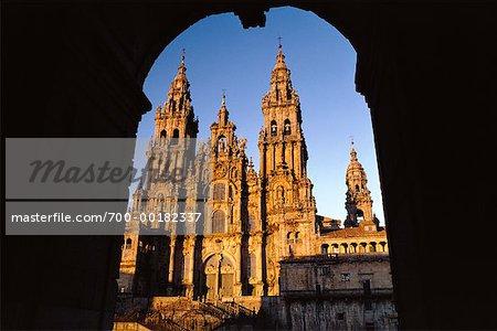 Cathédrale de Saint-Jacques de Compostelle Espagne