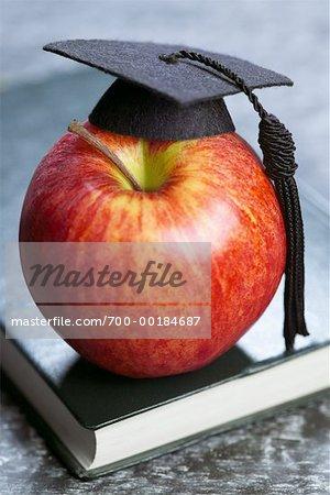 Livre, Apple et mortier
