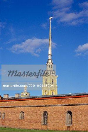 Peter et Paul forteresse Saint-Pétersbourg, Russie
