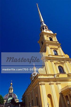 Peter et Paul, cathédrale Saint-Pétersbourg, Russie