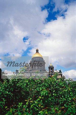 Saint-Pétersbourg, en Russie cathédrale Saint-Isaac