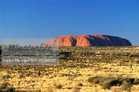 Parc National Uluru Ayers territoire du Nord, Australie