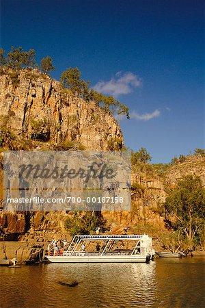 Territoire du Nord de Katherine Gorge Nitmiluk National Park, Australie