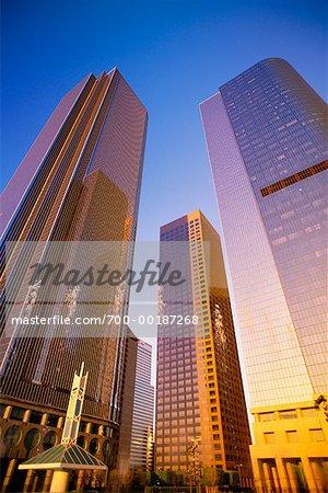 Finanziellen Bezirk Los Angeles, Kalifornien, USA