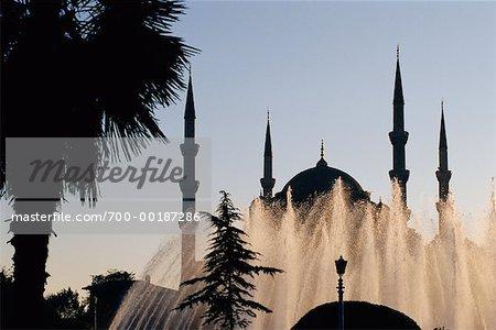 Mosquée bleue Istanbul, Turquie
