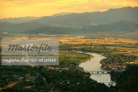 Maekok River Thaton, Thaïlande