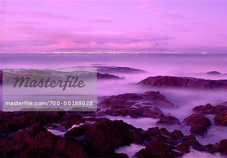 Kapstadt und Südafrika Bloubergstrand Beach