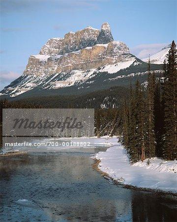 Castle Mountain Parc National de Banff (Alberta), Canada