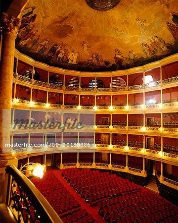 Théâtre Degollado Guadalajara, état de Jalisco au Mexique